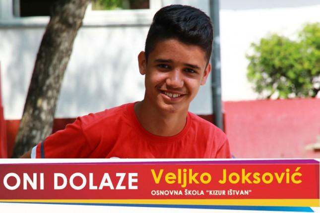 "Oni dolaze: Veljko Joksović, OŠ ""Kizur Ištvan"""