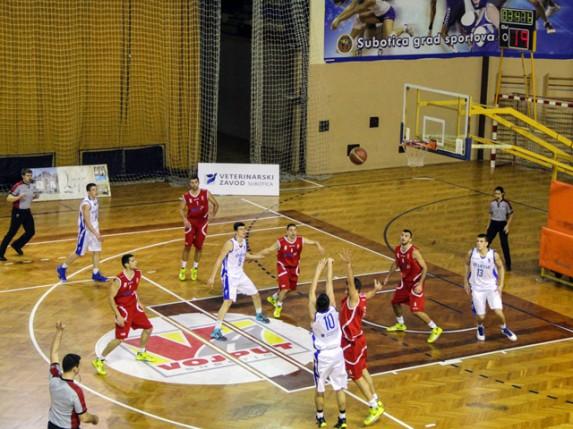 Pobeda košarkaša Spartaka protiv Napretka (75:70)