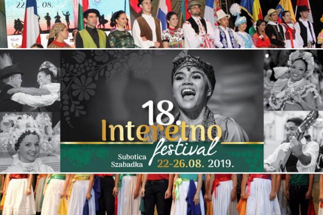 Počinje 18. Interetno festival