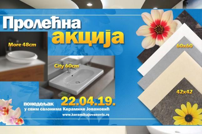"""Akcija """"Keramike Jovanović"""" 22. aprila na uvozne pločice"""