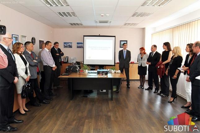 Delegacija nemačke pokrajine Baden Virtemberg u poseti Subotici
