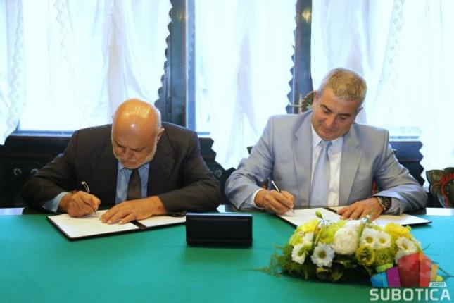 Potpisan Sporazum između Grada Subotice i Fakulteta tehničkih nauka
