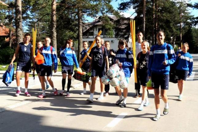 Fudbalerke Spartaka sa Zlatibora započele pripreme za novo učešće u Ligi šampiona