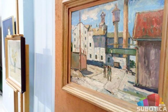 Izložena dela velikog slikara i profesora Đorđa Bošana