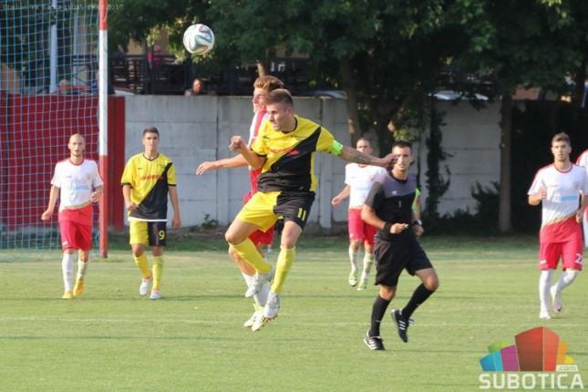 Fudbal: Bačka 1901 poražena od Bačkog Jarka (1:2)