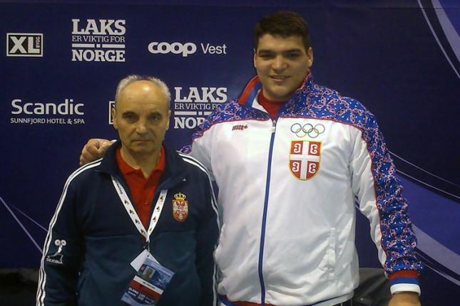 Tamaš Kajdoči 11. na Evropskom prvenstvu u dizanju tegova