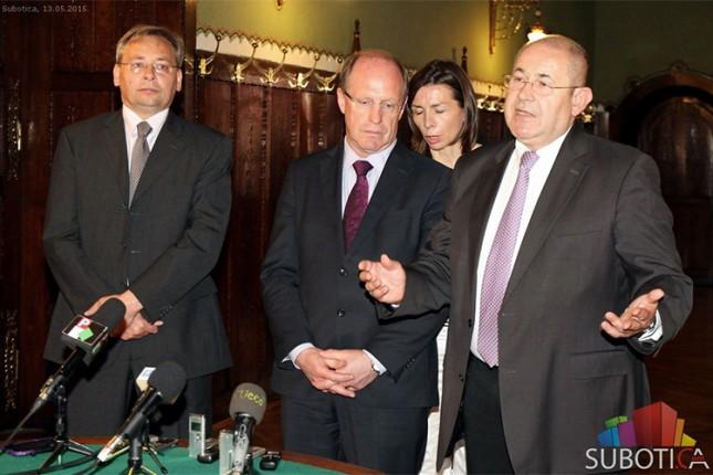 Prijem za predsednike parlamenata nemačke pokrajine Baden-Virtemberg i Vojvodine