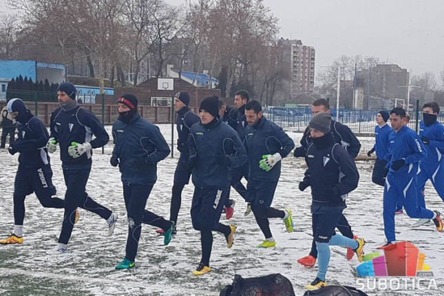 Fudbaleri Spartaka na okupu pred početak priprema za nastavak sezone