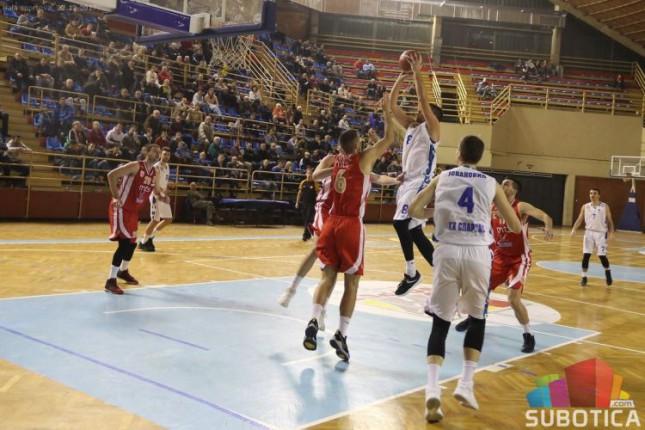 Košarka: Spartak poklekao u poslednjim sekundama protiv Borca (83:87)