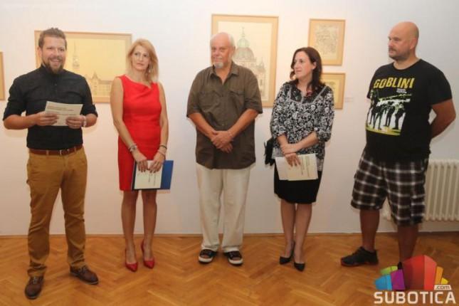 """Otvorena izložba """"Subotičke fasade: crteži i fotografije u ogledalu prošlosti"""""""