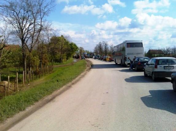 Blokirani izlazi iz Subotice - propuštanja na svaki sat
