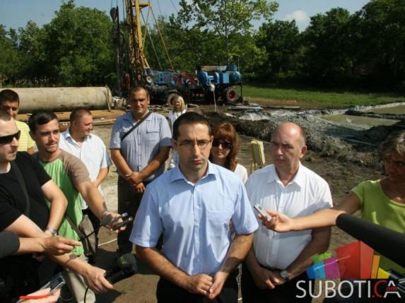 Izgradnja i opremanje novog bunara u Starom Žedniku