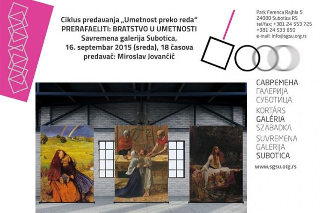 """Predavanje """"Prerafaeliti: Bratstvo u umetnosti"""" sutra u Savremenoj galeriji"""