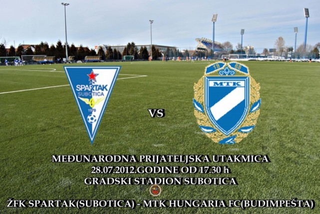 """Šampion na šampiona - ŽFK """"Spartak"""" protiv MTK """"Hungaria"""""""