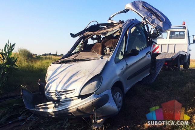 U saobraćajnoj nesreći poginulo jedno lice