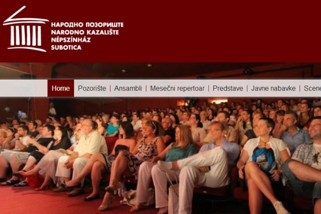 64. Festival profesionalnih pozorišta Vojvodine od 7. do 12. aprila u Subotici