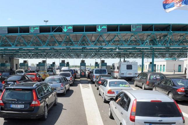 "Pojačan saobraćaj na Graničnom prelazu ""Horgoš"""