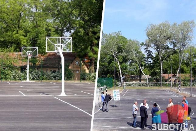Obnovljeni tereni na Paliću čekaju ljubitelje sporta