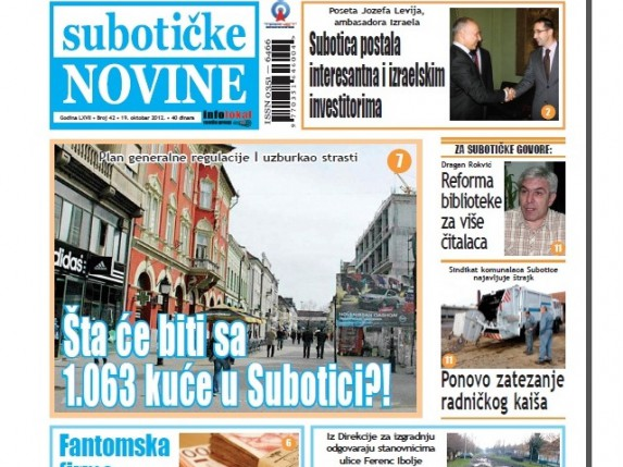 Šta će biti sa 1.063 kuće u Subotici?!