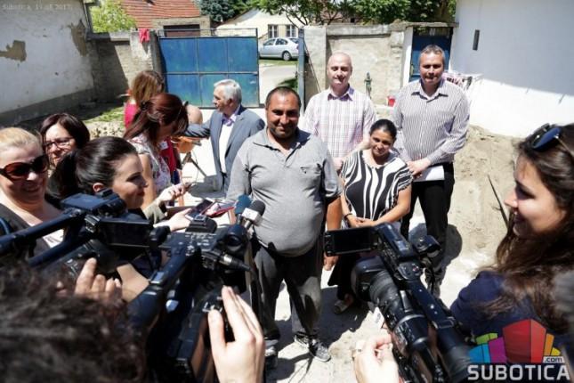Pomoć za romske porodice kroz projekat zbrinjavanja interno raseljenih lica