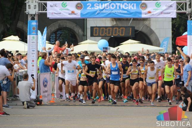 Održan 2. Subotički polumaraton