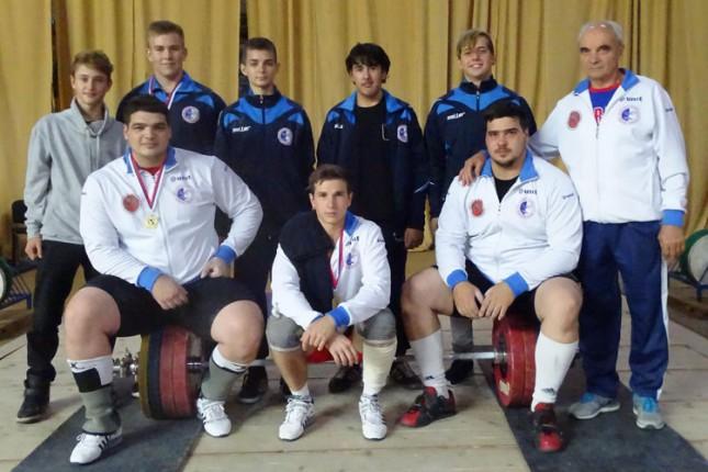 Dizanje tegova: Spartak pobednik Prvenstva Srbije za seniore