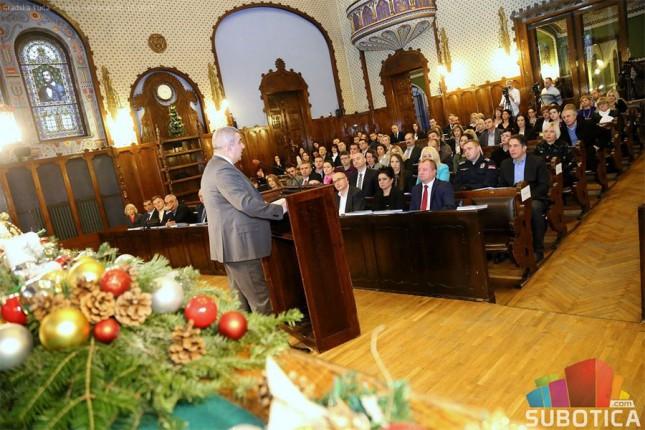Novogodišnji prijem za predstavnike državnih organa