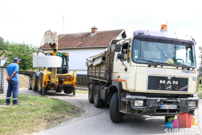 Počela izgradnja kanalizacije na Paliću