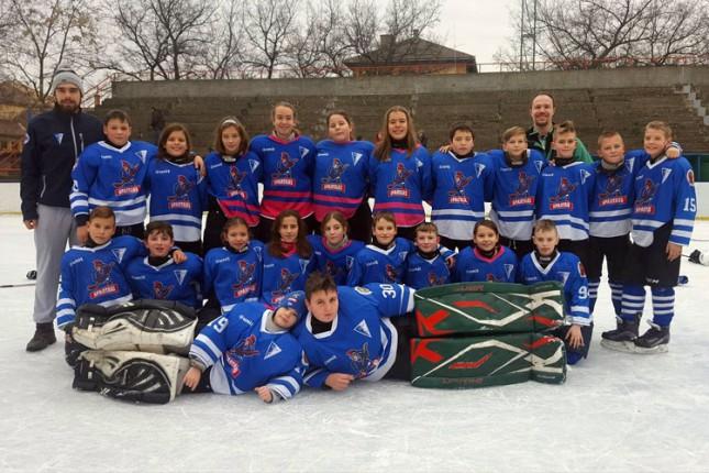 "Hokej na ledu: Još jedan uspešno organizovani ""Spartans Kids"""