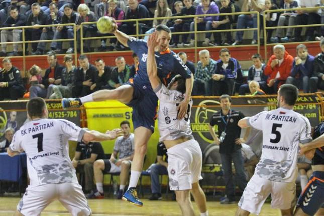 Rukometaši Spartaka poraženi od Partizana (34:28)