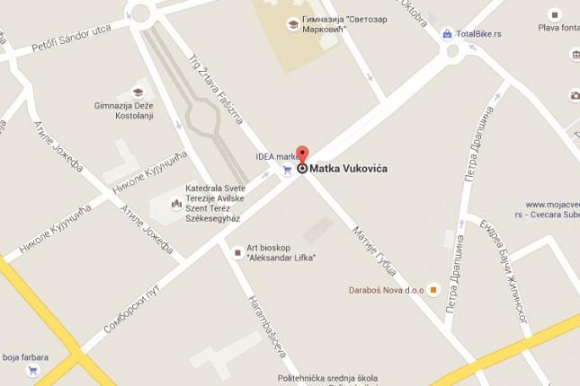 Od nedelje sledi zatvaranje raskrsnice ulica Matka Vukovića i Matije Gupca na 40 dana