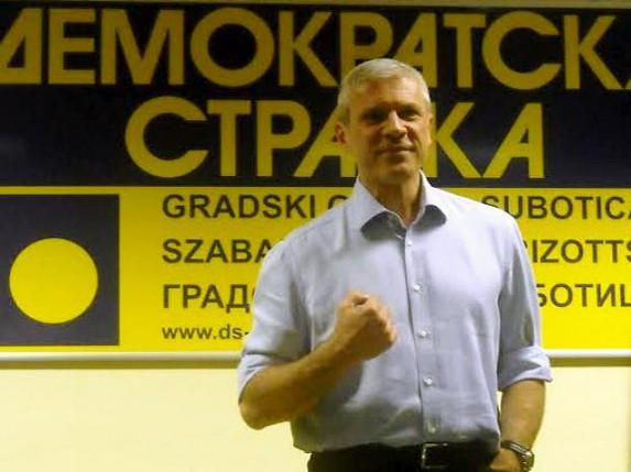 Subotički DS želi Tadića na čelu stranke