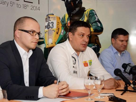 Gabor Sagmajster spreman za Dakar reli 2014