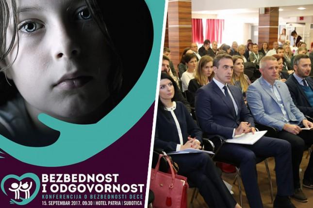 """Konferencija o bezbednosti i prevenciji nasilja nad decom u petak u """"Patriji"""""""