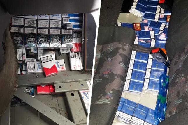 Sprečeno iznošenje 140 boksova cigareta