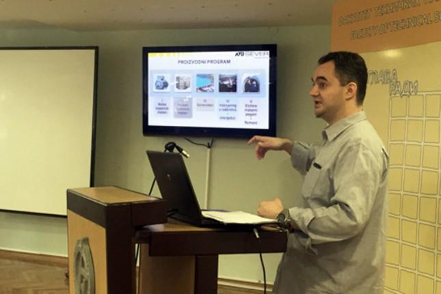 ATB Sever održao prezentaciju na Fakultetu tehničkih nauka u Novom Sadu