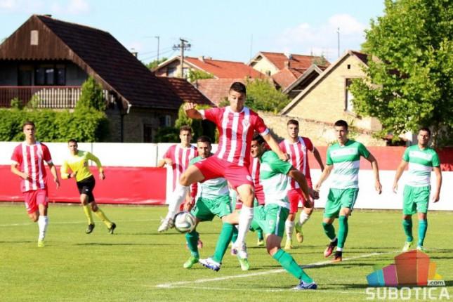 Fudbal: Bačka 1901 osvojila bod protiv Hajduka