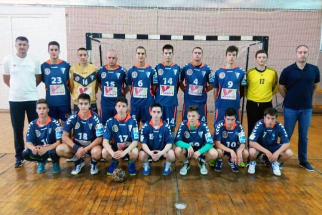 Mladi rukometaši Spartaka (U16) na Prvenstvu Srbije