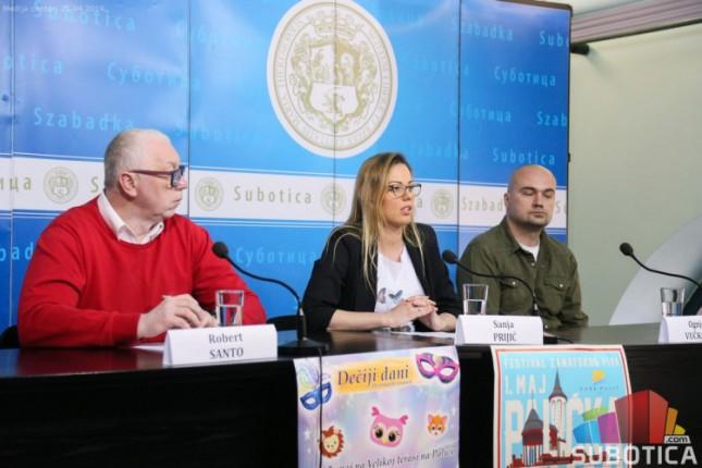 Prvomajski uranak na Paliću od 1. do 5. maja