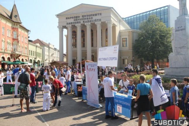 """Održan """"Festival sporta"""" za najmlađe sugrađane"""