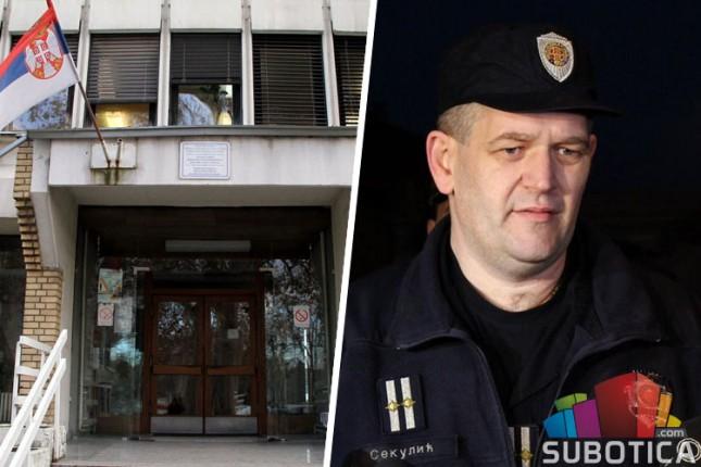 Nenad Sekulić novi načelnik subotičke policije