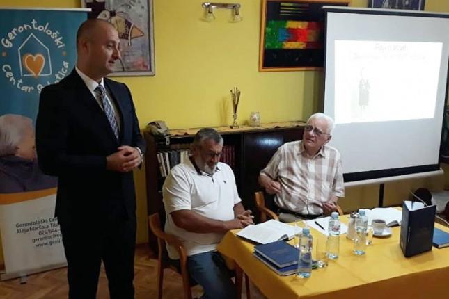 """U Gerontološkom centru predstavljena knjiga """"Osnovi gerijatrije"""""""