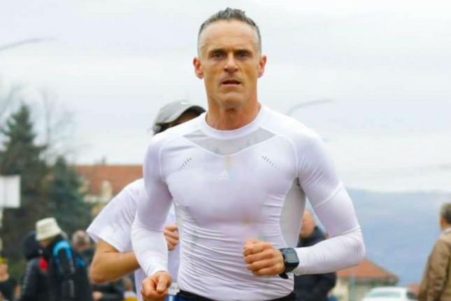 Igor Stanojević jedan od trkača 3. Subotičkog polumaratona