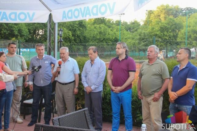 "Otvoren 3. Međunarodni teniski memorijal ""Jovan Kukaras"""