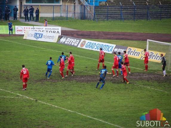 Poraz fudbalera Spartaka od Radničkog iz Kragujevca (1:2)