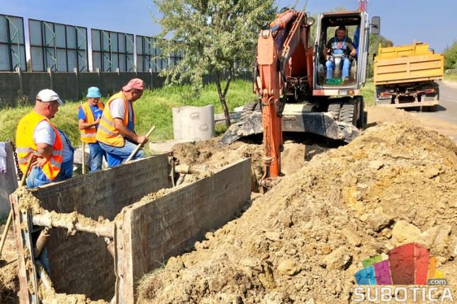 U toku radovi na izgradnji vodovodne, kanalizacione i saobraćajne infrastrukture