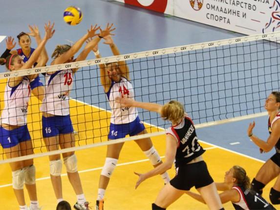 Poraz odbojkašica Srbije u grupnoj fazi u subotičkoj Hali sportova