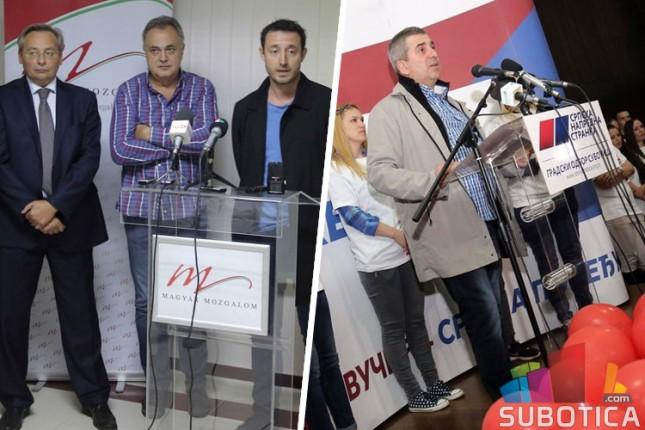 PzGS: Tražimo smenu gradonačelnika, SNS: Kraj je pljački i malverzacijama!