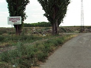 Divlja deponija u Novom Žedniku