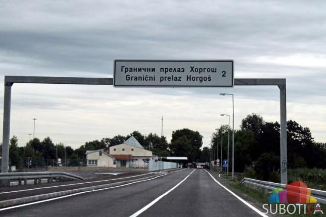 "Granični prelaz ""Horgoš 2"" otvoren i za automobile"